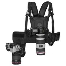Camera Chest Strap Dual Camera Carrier System Vest Quick Strap with Side Holster