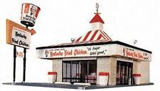 WALTHERS LIFE LIKE HO SCALE 1/87 KENTUCKY FRIED CHICKEN KFC KIT | BN | 433-1394
