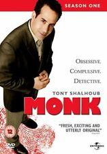 MONK - SEASON 1 - DVD - REGION 2 UK