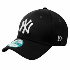 New York Yankees MLB Baseball New Era 9Forty Cap Kappe   schwarz / weisses Logo