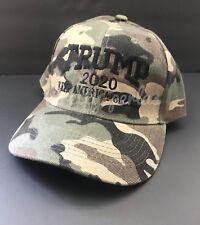 Donald Trump 2020 Cap Mossy Oak camo hat on visor USA 🇺🇸 Trump Make  America 7d1cbbc60fb