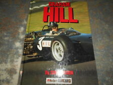 Graham Hill by Simon Arron. Signed Barry Lake. Motorsport, Motor Racing, F1