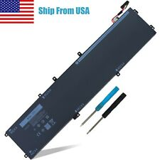 New Replacement Laptop Battery for Dell Xps 15 9550 9560 9570 6Gtpy 5Xj28 97Wh