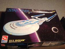 Amt / Ertl  Star Trek Generations  U.S.S. Excelsior  1/1000 Scale Model Kit