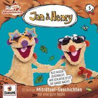 JAN & HENRY - 005/10 LUSTIGE MITRÄTSEL-GESCHICHTEN   CD NEU