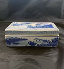 Chinese Antique Qianlong Porcelain Box