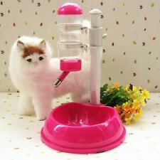Dogs Cats Drinker Pets Water Dispenser Feeder Bottle Bowl Automatic Drinking