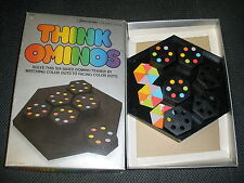Think Ominos Puzzle Game Made By Irwin From 1984 Six-Sided Domino Solitaire