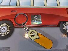 VOLKSWAGEN  VW BULLI  Schlüsselanhänger - orange/beige - NEU & ovp - 610064/A