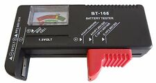 Gift Idea Universal Battery Tester AA/AAA/C/D/9V Button Cell Volt Test US SELLER