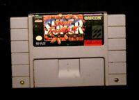 Super Street Fighter II (Super Nintendo Entertainment System, 1993)