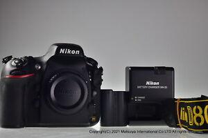 NIKON D800E 36.3MP Digital Camera Body Shutter Count 13877 Excellent