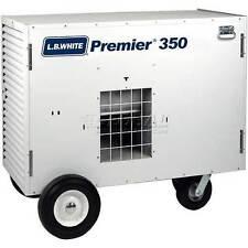 LB White, Tent, garage, event, construction, 350,000 BTU heater, George Maser