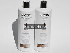 Nioxin System #4 Shampoo + Conditioner 1L 33.8 fl oz