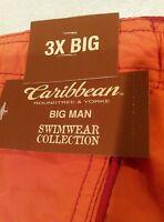 Caribbean Roundtree & Yorke Big Man Swimwear  3XB 85% Off Retail $58 sale $7.99