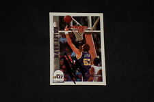 MARK EATON 1992-93 HOOPS SIGNED AUTOGRAPHED CARD #224 JAZZ