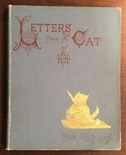 Letters From A Cat (1894, Hardcover) H H PreOwnedBook.com BooksByDecade.com