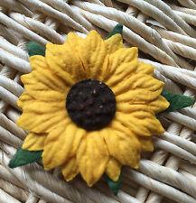 ✿ Gorgeous Handmade Mulberry Paper Sunflowers x 8  X - Large Wedding Invites ✿