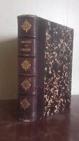 L Insetti Per J.Michelet 3ème Édit. Hachette A Parigi 1859 ABE