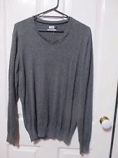 Men's Grey Cotton Jumper size Large