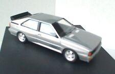 TROFEU 1601S Audi Quattro die cast model road car Muleto silver body 1:43rd