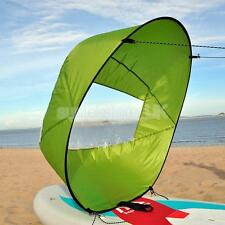 """Canoe Kayak Sail Accessories Kit - 42"""" Compact Popup Downwind Wind Paddle"""