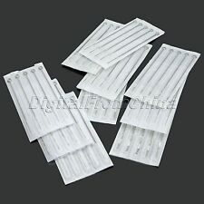 100Pcs 3/5/7/9RL 5/7/9RS 5/7/9M1/Mix Assorted Sizes Disposable Tattoo Needles