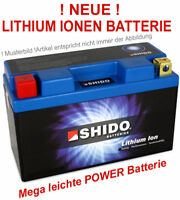 hochwertige Shido Lithium Ionen LiFePO4 Batterie LTX7L-BS YTX7L-BS CTX7L BS