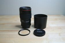 New ListingCanon Ef 100mm F/2.8L Macro Is Usm Lens w/ Uv filter + Canon hood! Free Ship!