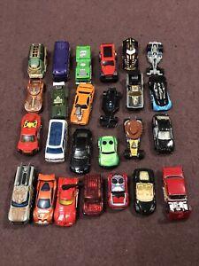 25 hot wheels toy cars  job lot bundle Lot 6 READ LISTING