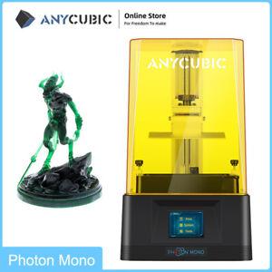 UV Resina SLA Stampante 3D Anycubic LCD Photon Mono Alta velocità 130*80*165mm