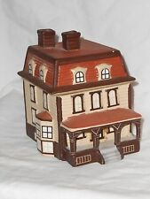 Collectible Victorian Style House Treasure Trinket Box