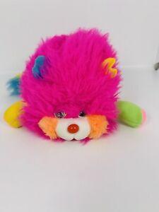 """Vintage Mattel Popples Puffling 1986 Pink Yellow Blue 5"""""""