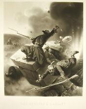 Les Zouaves à l'assaut Guerre de Crimée Bataille de l'Alma Horace Vernet 1857