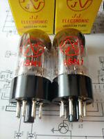 2 Stk Matched pair JJ 6SN7 Dual Trioden NEW Selektiertes Paar 6SN7GT NEU ECC82