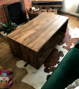 Scaffold Coffee Table -handmade
