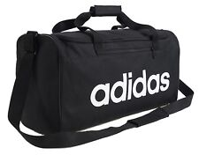 Adidas Linear Core Medium Duffle Bags Running Black Soccer GYM Bag Sacks DT4819