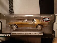 Greenlight 1/18 Scale 1968 Ford Mustang Gt