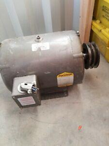 BALDOR ELECTRIC Motor,10 HP,1725 RPM,230V,215T,ODP 3 phase