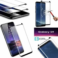 100% Genuine Tempered Glass LCD Screen Protector For Samsung Galaxy S9 - Black