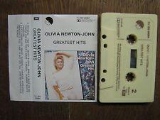 OLIVIA NEWTON-JOHN K7 AUDIO BELGIQUE GREATEST HITS