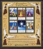 38459) S.Vincent Gren. 1978 MNH Christmas - Natale