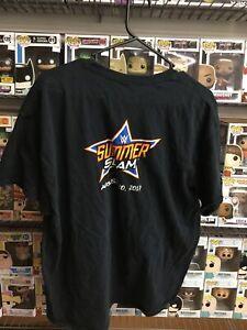 WWE 2017 SUMMERSLAM  Crew Shirt XL