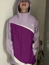 The North Face Big Girls Fleece Jacket Purple Long Sleeve Zip Up lXl 18