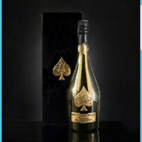 ARMAND DE BRIGNAC ACE OF SPADES Empty Bottle GOLD Champagne with Box
