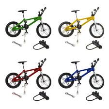 4 Pcs 1:24 Miniature Alloy Finger Bike Bicycle Diecast Model Desk Gadget Toy