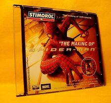 DVD The Making of Spider-Man +/- 48 min. PAL STIMOROL PROMO RARE !