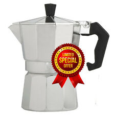One Cup Espress Coffe Maker, Cafetera Cubana Italiana Cafe Moka