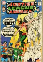 Justice League Of America #72-1969 gd 2.0 Kubert Red Tornado comes to Earth-1