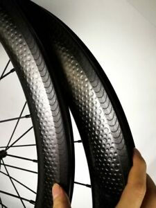 700C Carbon QR Rennrad Laufradsatz Fahrrad Laufräder Drahtreifen Felgenbremse